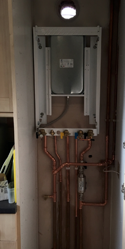 Worchester bosch greenstar installation