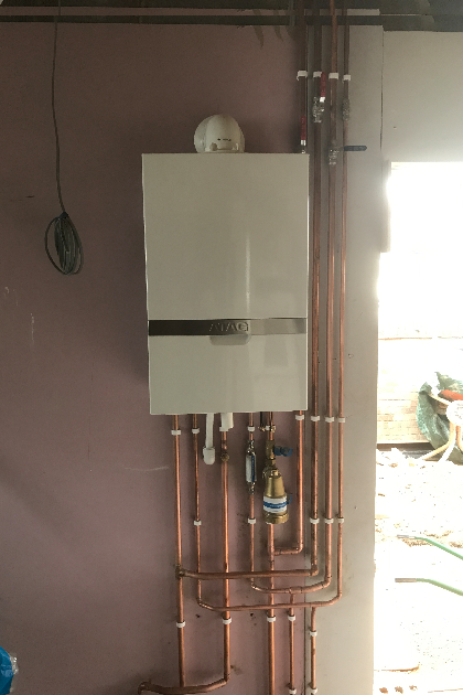 Atag combination boiler installed with 10 year warranty