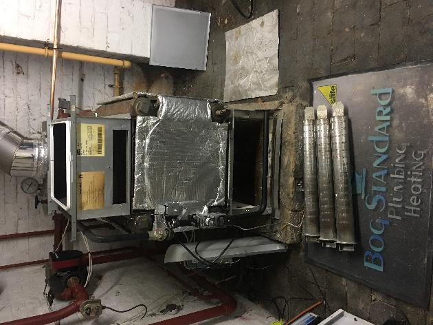 Commercial boiler service at Dudley